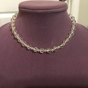 Estate sale Crystal choker necklace. 2/$12 Sale